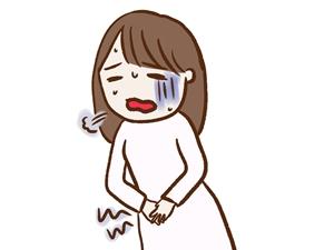 子宮収縮の痛み