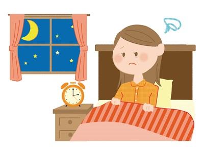 不眠や集中力の低下
