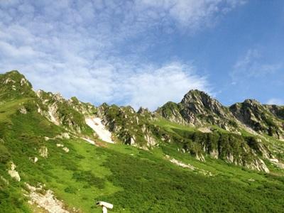 ルイボスが育つ山脈